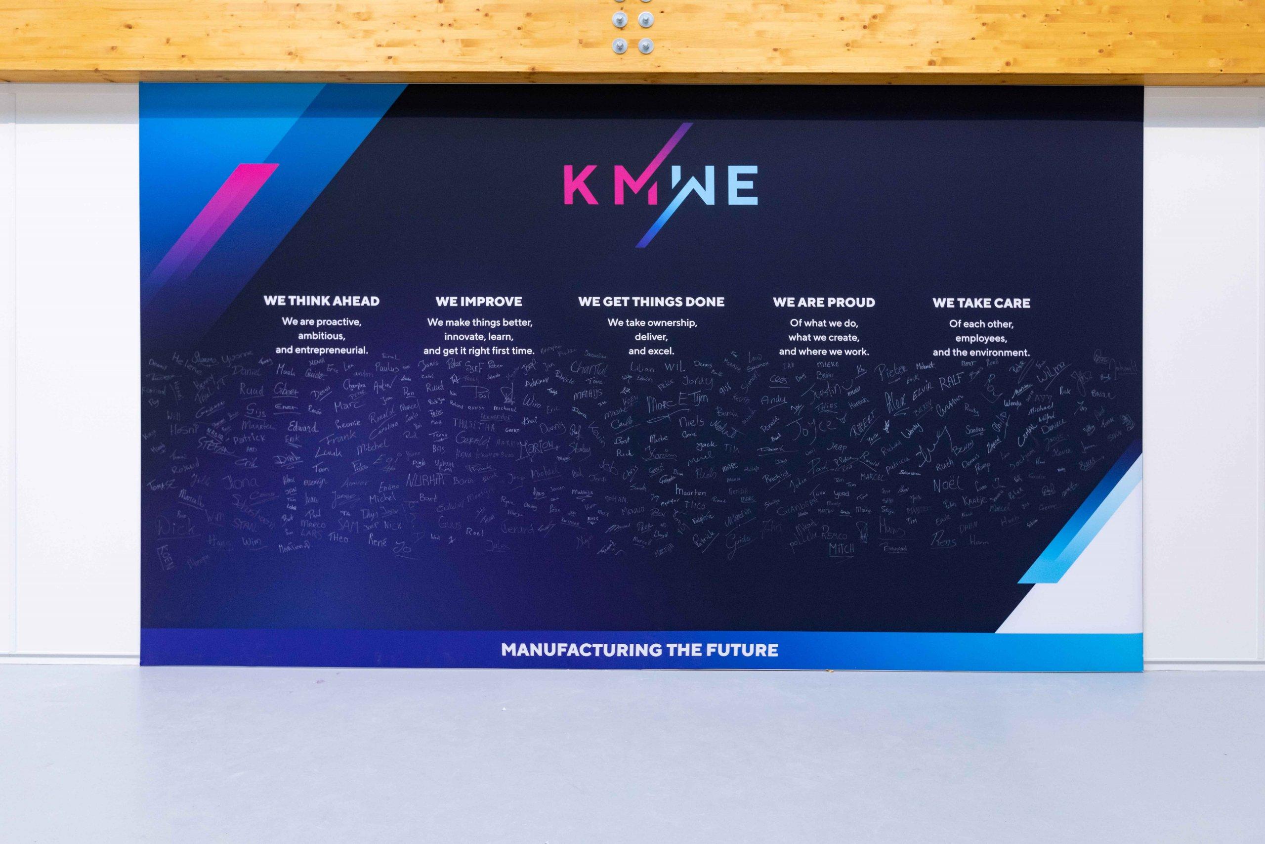KMWE heeft 5 values