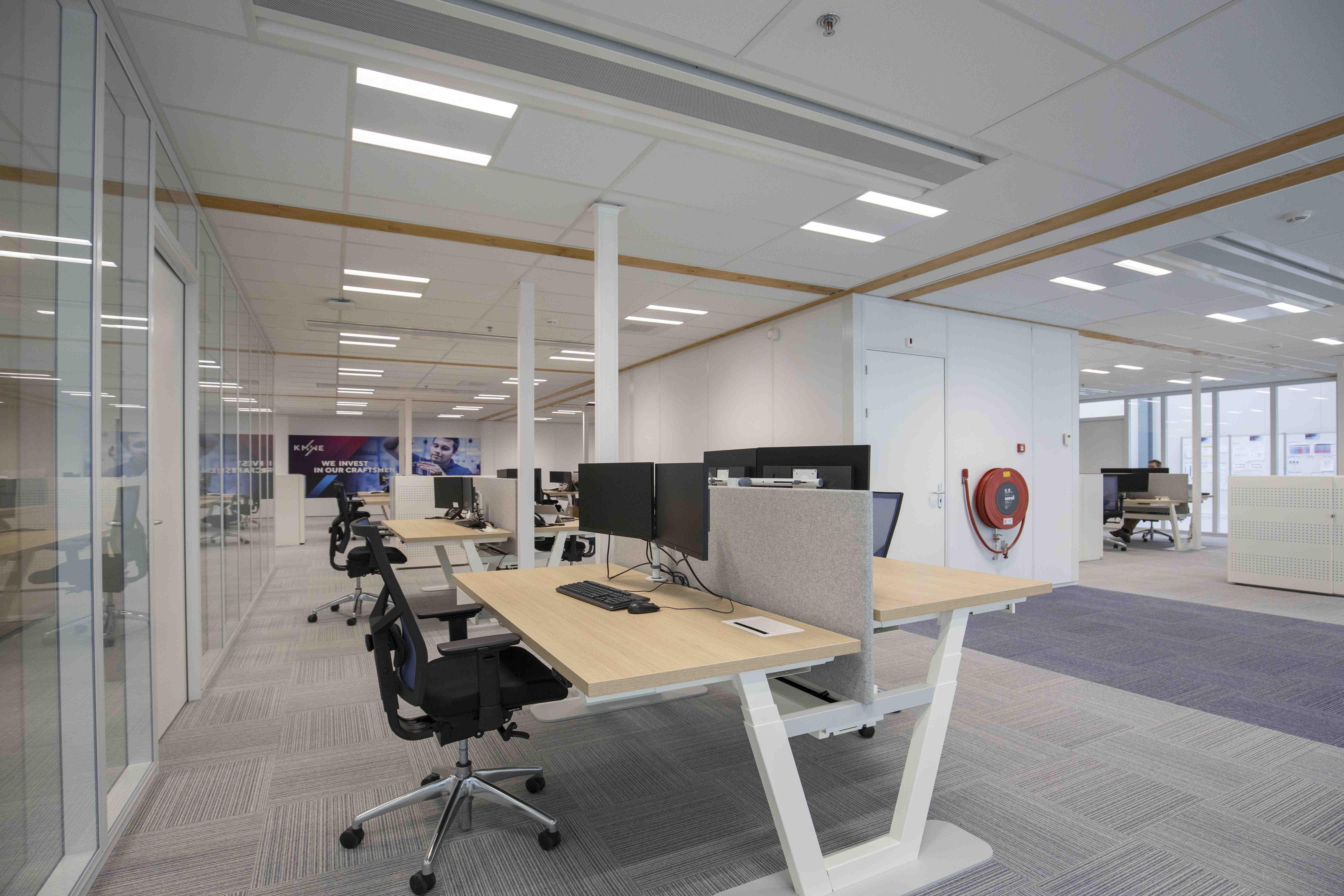 Kantoren van KMWE op de Brainport Industries Campus.